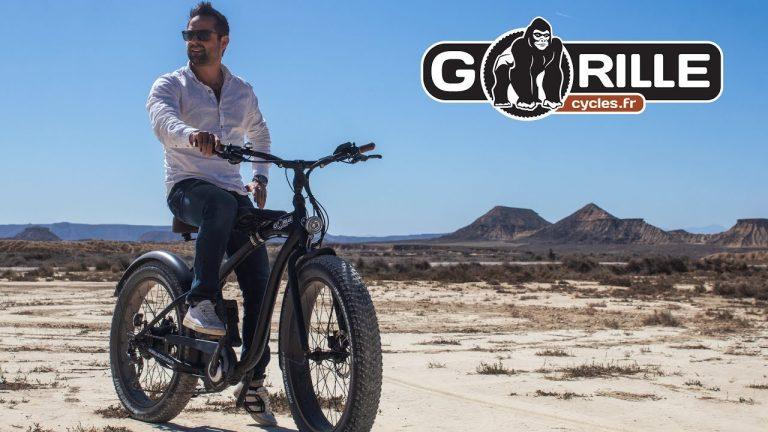 vélo électrique californien gorille