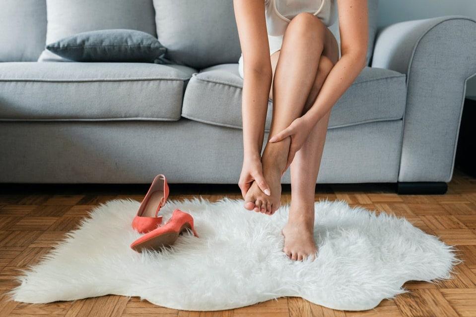 problèmes des pieds